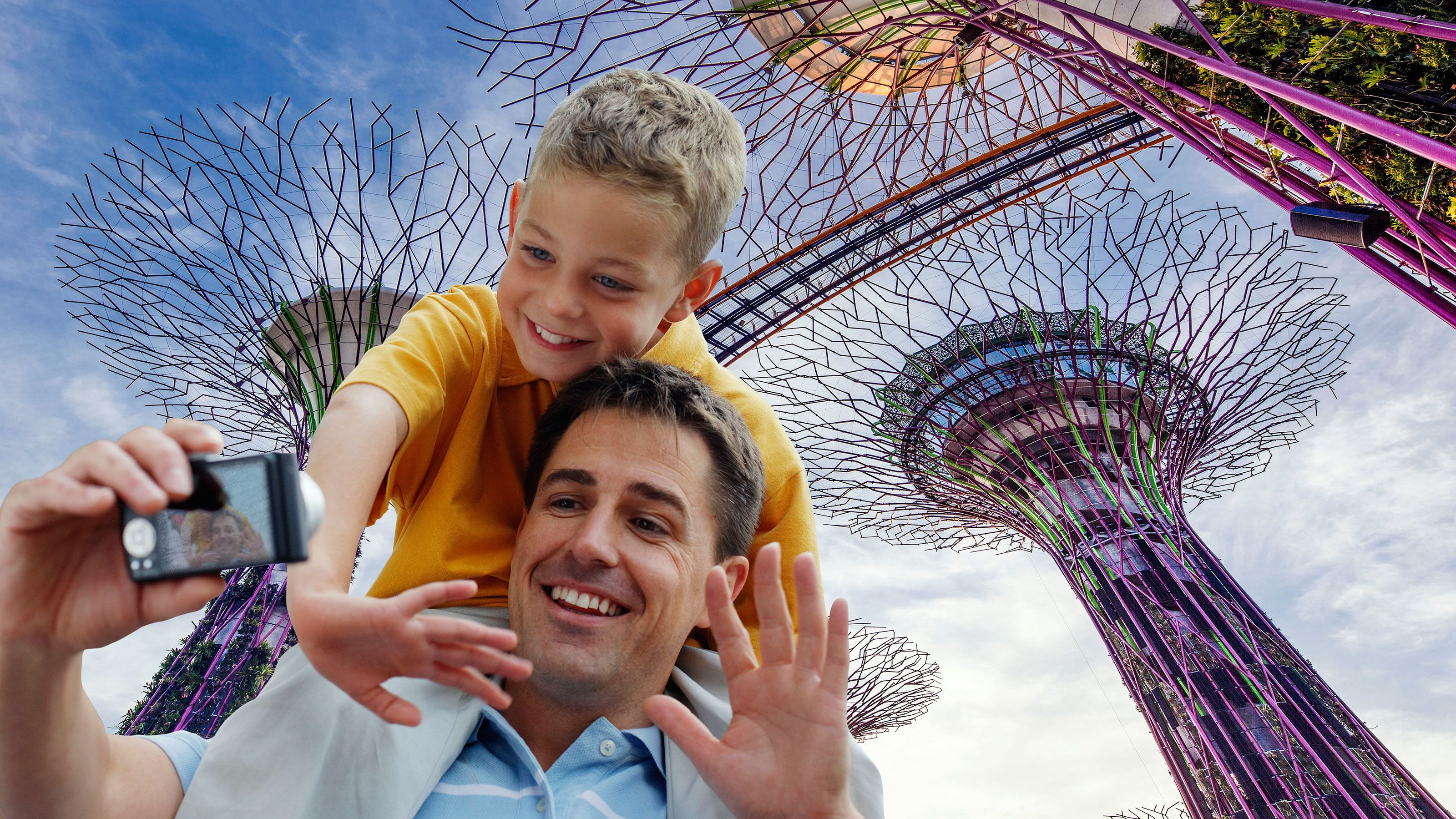 Gardens by the Bay, Marina Bay Sands & River Cruise Tour