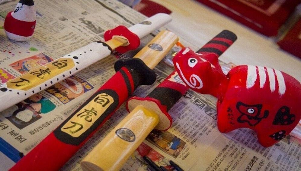 """Show item 2 of 5. Samurai training program at Samurai School """"Nisshinkan"""""""