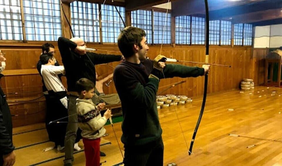 """Show item 1 of 5. Samurai training program at Samurai School """"Nisshinkan"""""""