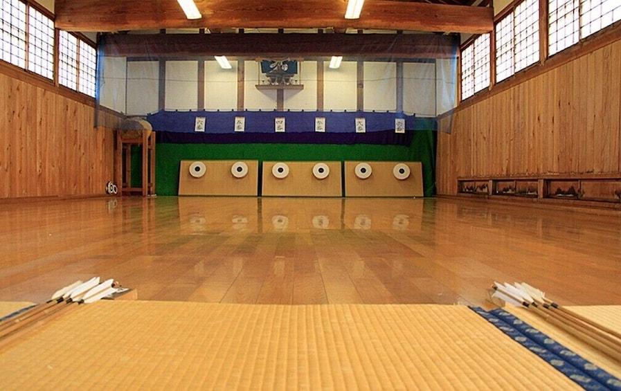 """Show item 4 of 5. Samurai training program at Samurai School """"Nisshinkan"""""""