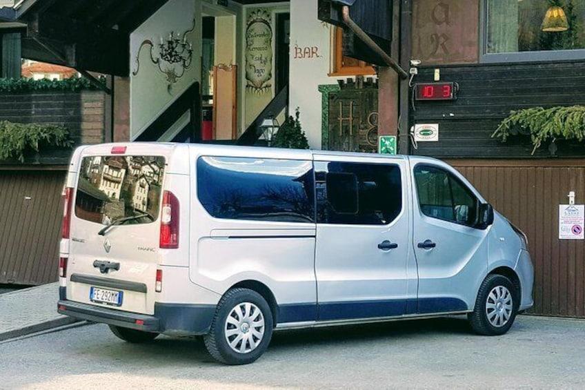 Show item 2 of 11. Cortina d'Ampezzo - Venice Airport (VCE) / Private Departure Van Transfer