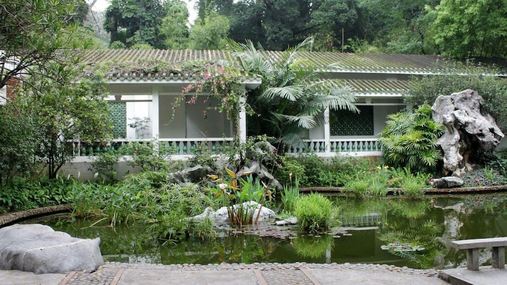 garden view in Shanghai