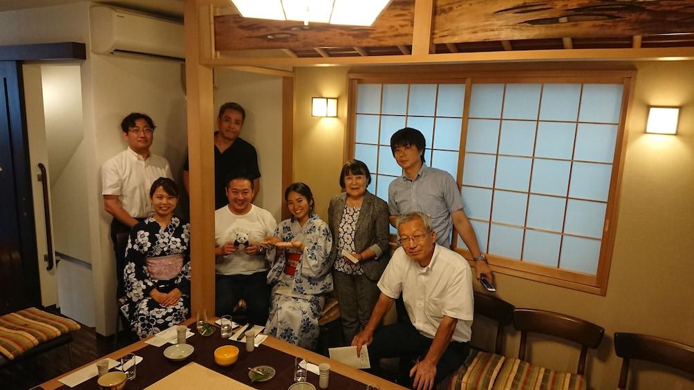 Show item 3 of 5. Tea ceremony tour in Ueno with kimono guide