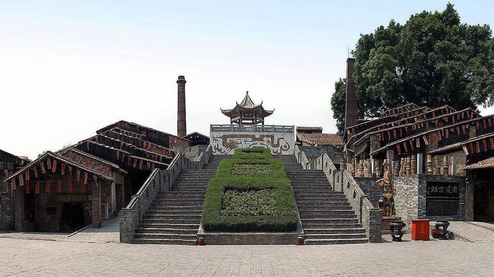 Show item 1 of 5. long stair case in Guangzhou
