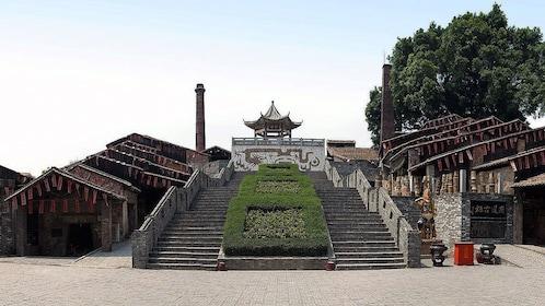 long stair case in Guangzhou