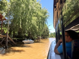 Tigre Delta Half-Day Tour & Cruise from Buenos Aires