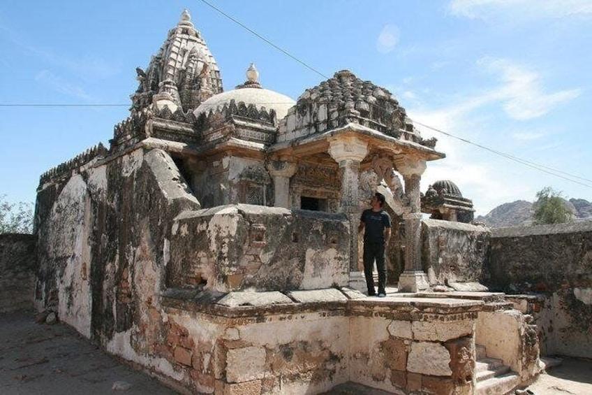 The Jain temple of Nagarparkar lies at the main bazaar area of the Nagarparkar town, locals call it with the name of Bazaar temple, the construction is of 13th century,
