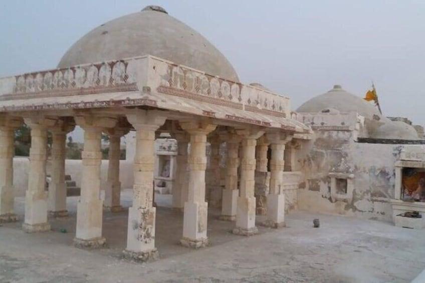 The Gori Temple is a Jain temple in Nagarparkar.