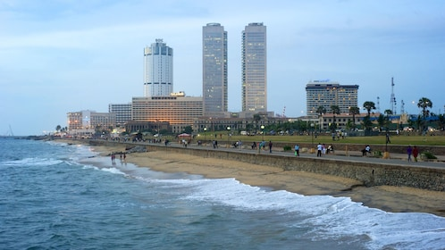 coast line view in Colombo