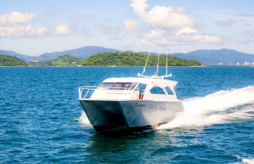 Show item 2 of 9. Catamaran Phi Phi Islands & Khai Island Day Trip Snorkeling
