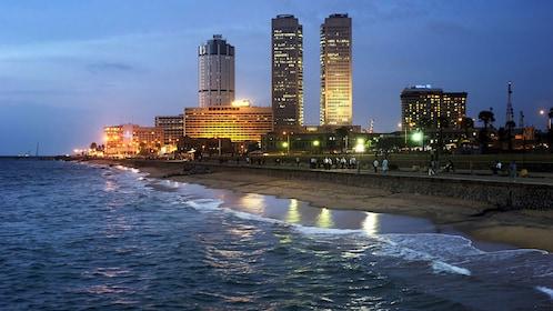 city view near Colombo