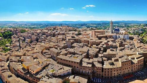 circular city plan in Siena