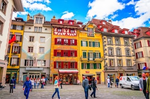 Luzern city - small group tour from Basel