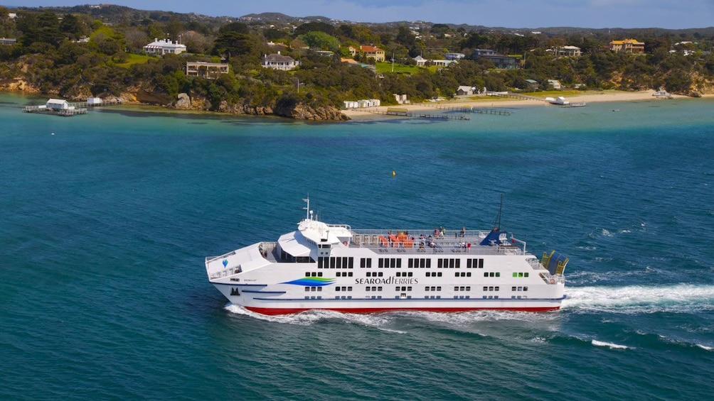 Ferrie boat in Australia