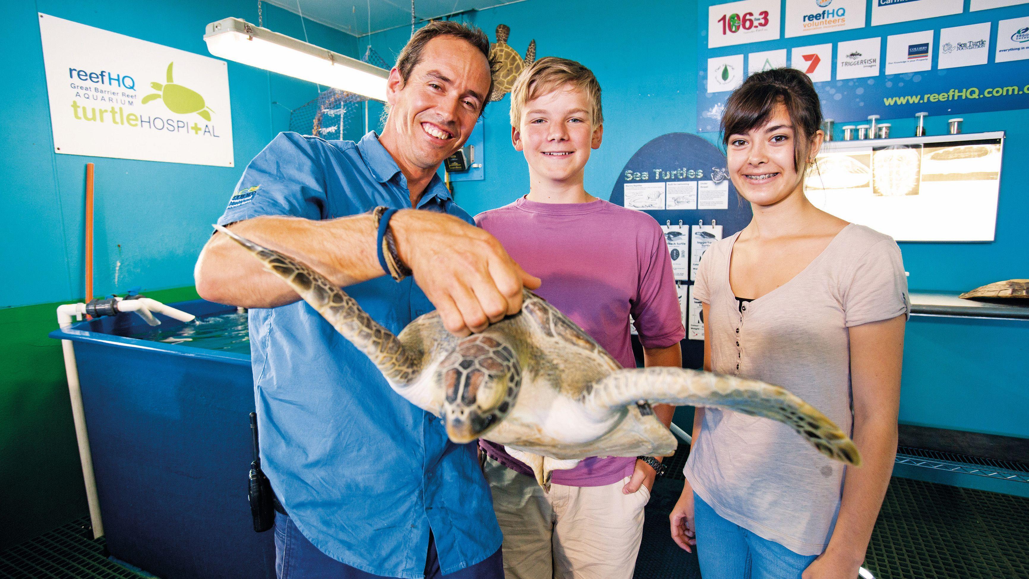 Reef HQ – The Great Barrier Reef Aquarium