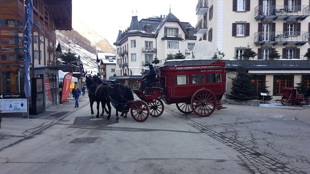Zermatt & Matterhorn area - small group tour from Zurich