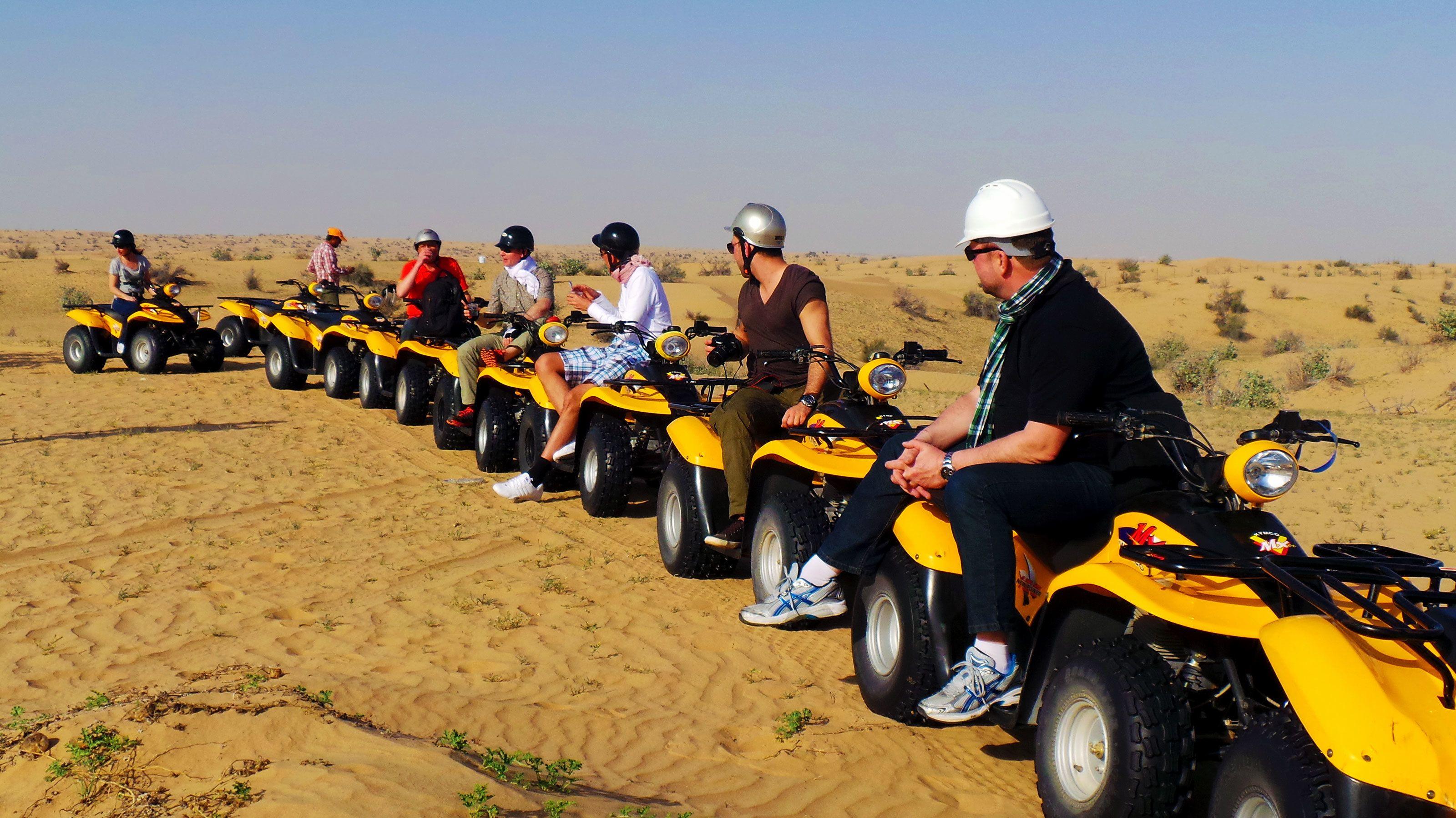 Ørkentur med ATV i Dubai