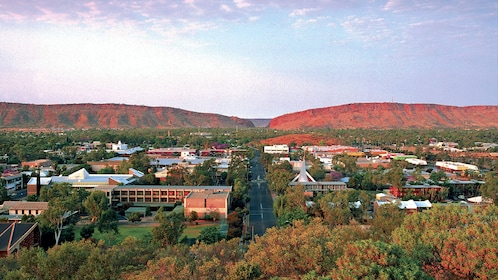 Panoramic view of Alice Springs