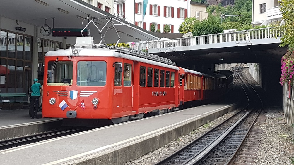 Show item 3 of 9. Rigi mountain & lake cruise small group tour from Basel