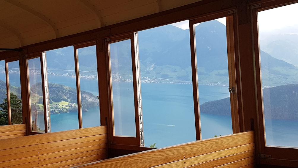 Show item 5 of 9. Rigi mountain & lake cruise small group tour from Basel