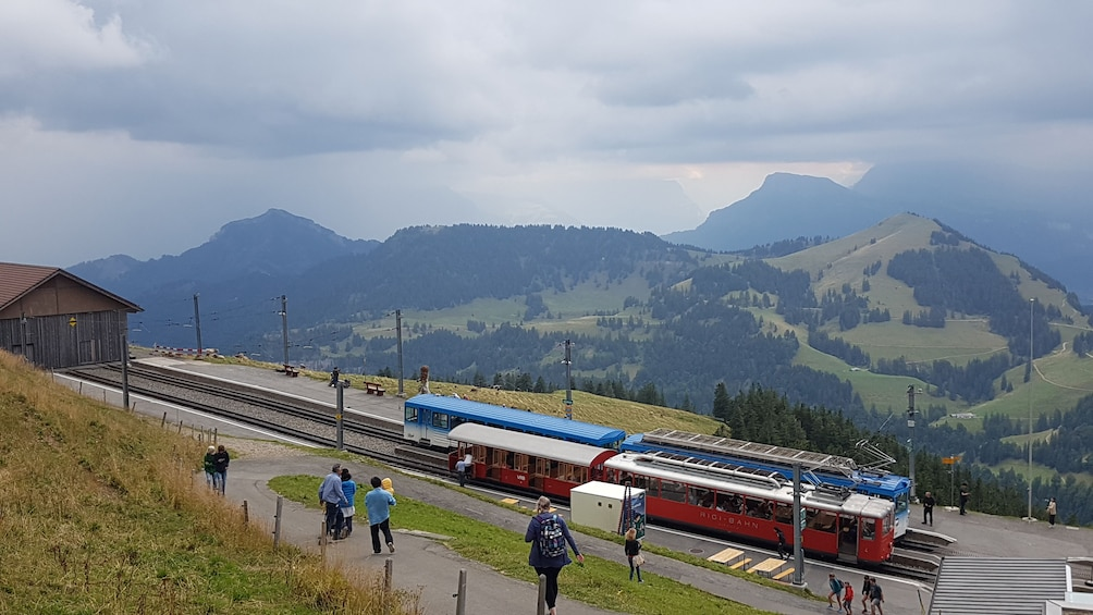 Show item 1 of 9. Rigi mountain & lake cruise small group tour from Basel