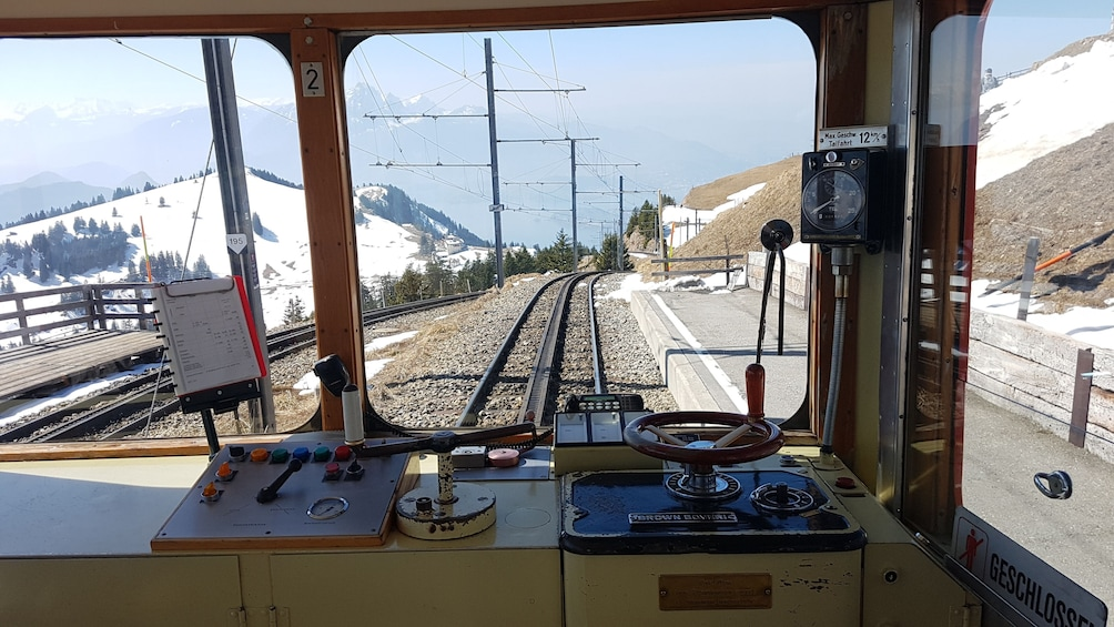 Show item 2 of 9. Rigi mountain & lake cruise small group tour from Basel