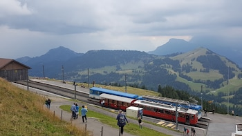 Mount Rigi with Lake Cruise Small Group Tour from Luzern