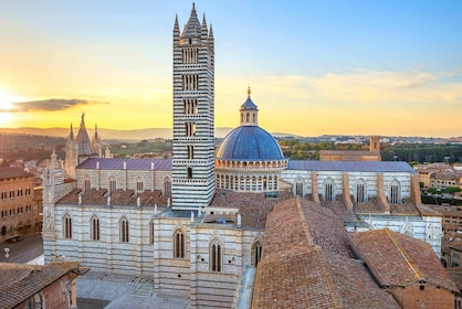 Highlights of Tuscany: Siena, San Gimignano & Pisa with Lunch