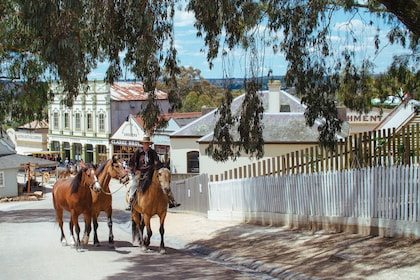 Sovereign Hill Gold Rush Town Tour from Melbourne
