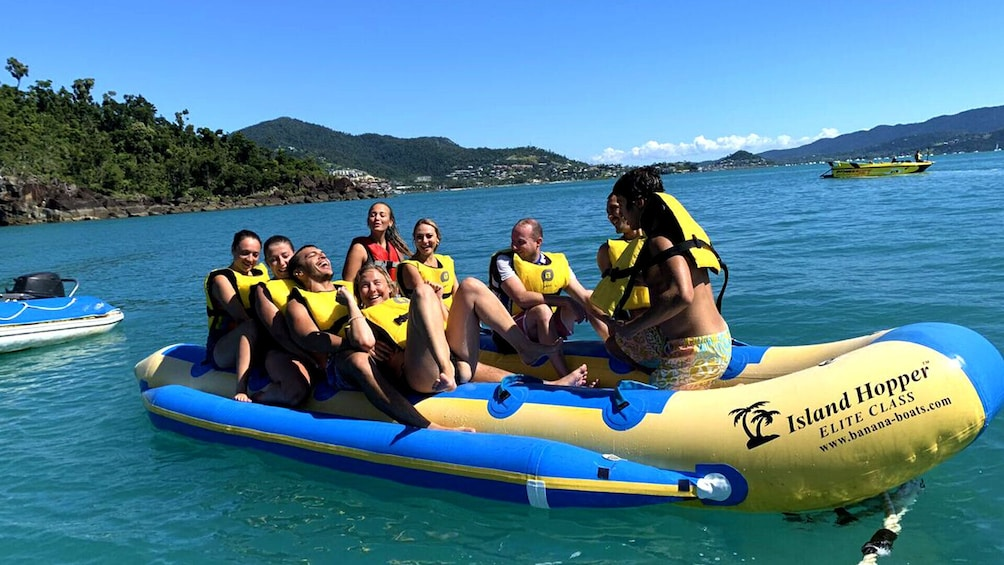 Show item 9 of 9. Airlie Beach Jet Boat & Banana Boat Ultimate Combo!