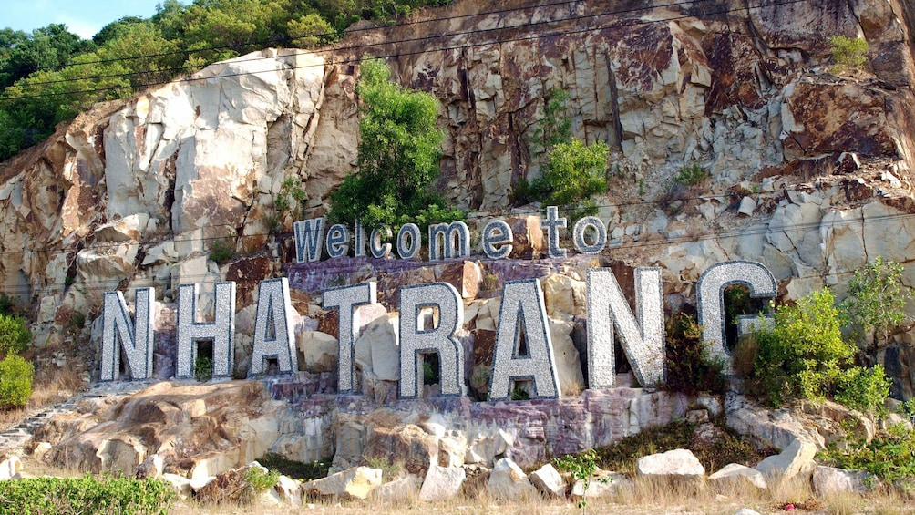 Show item 2 of 9. Rocky wall in Nha Trang