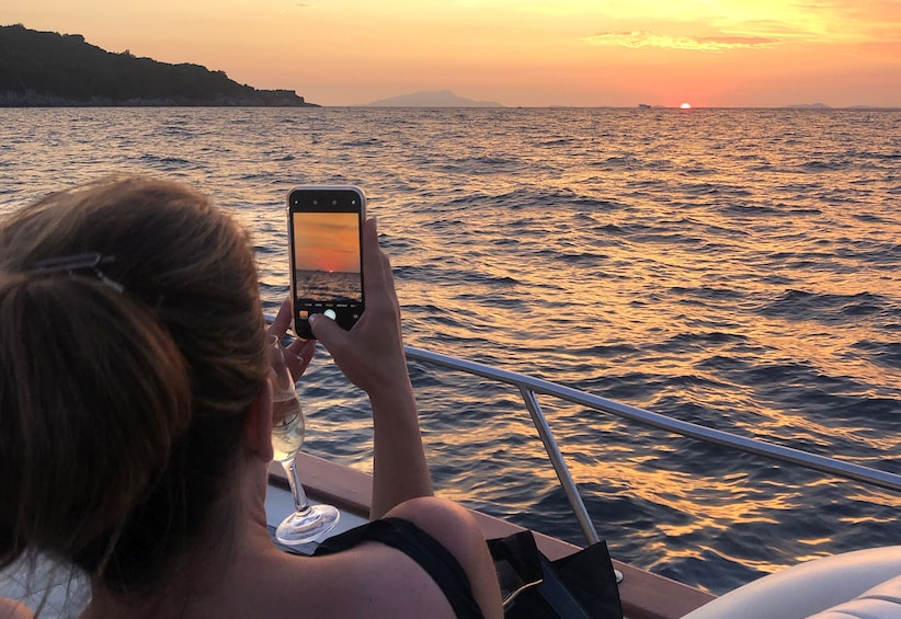 Show item 4 of 5. Sunset tour to Capri by boat of 5 hours