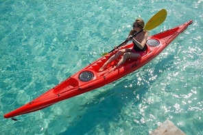 Kayak tour with snorkelling and fruit