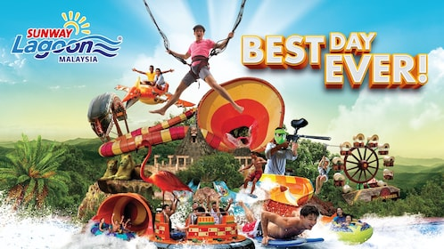 Sunway Lagoon Theme Park One Day Pass