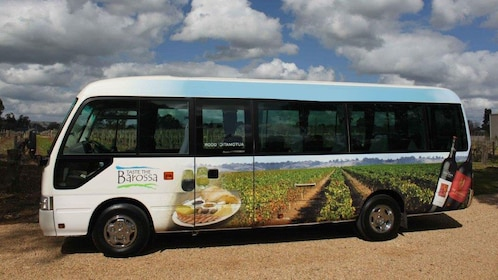 Tour bus in the Barossa Valley