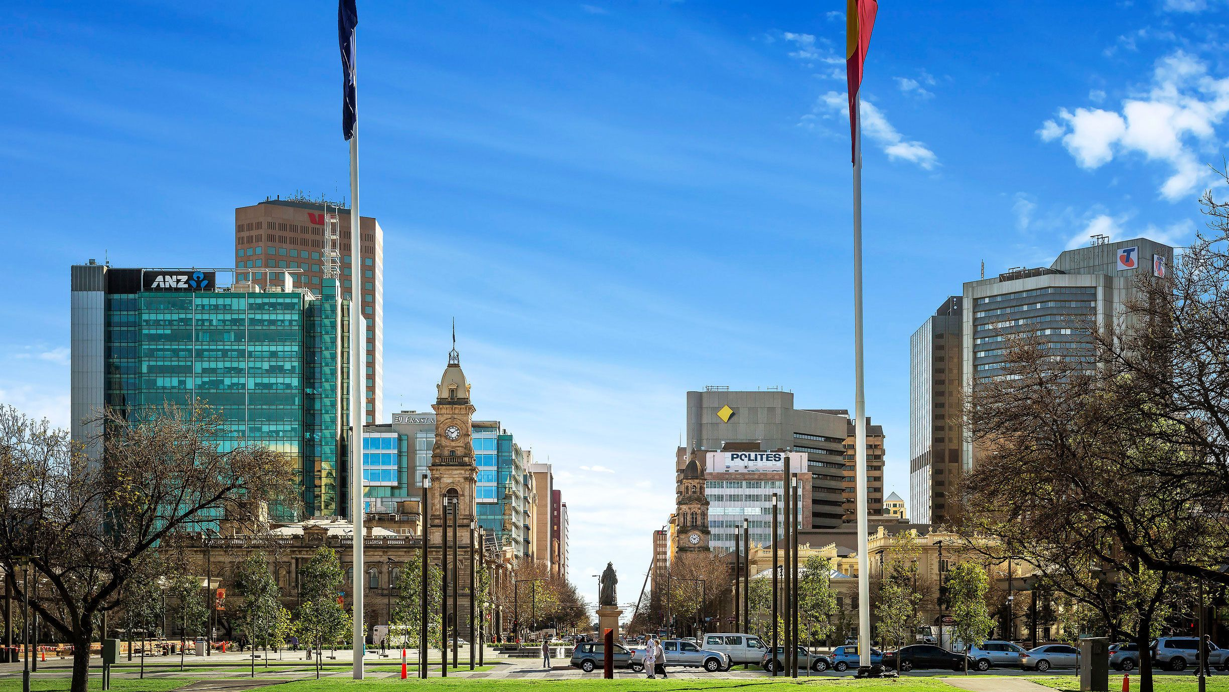 The city of Adelaide