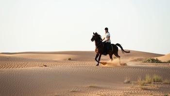 Randonnée équestre dans le désert à Winners Equestrian