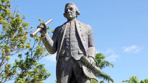 Statue found in North Queensland Australia