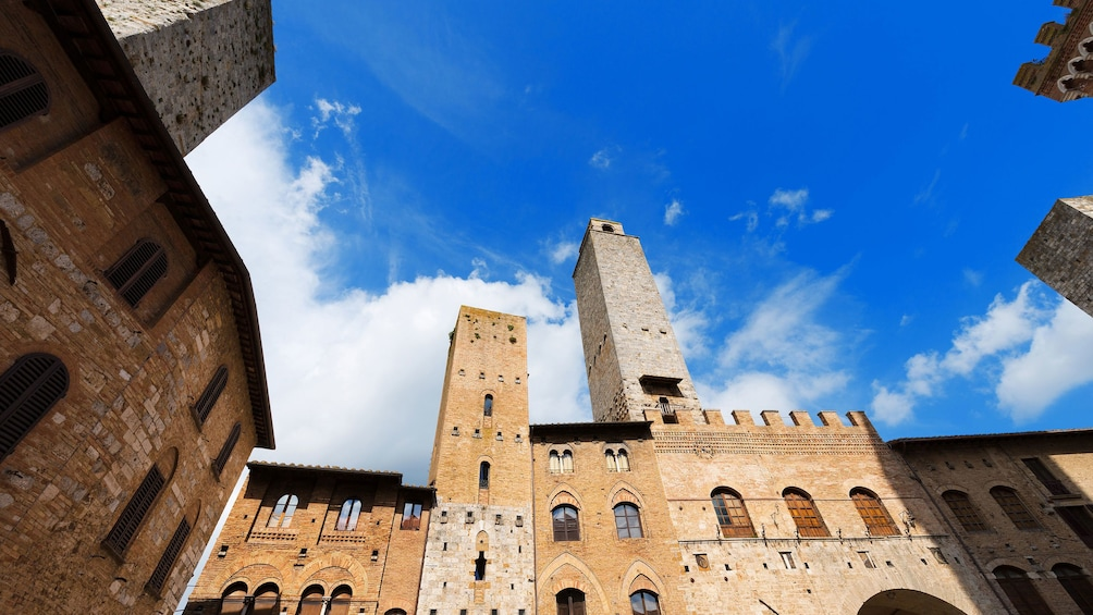 Show item 2 of 5. historic buildings in San Gimignano in Italy
