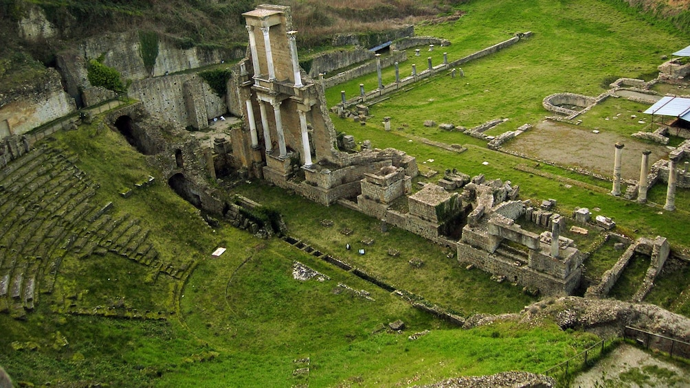 Show item 3 of 5. old stone ruins in Italy