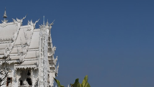 A white building in Chiang Mai