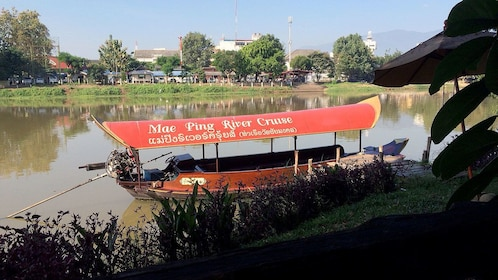 Boat in the water in Doi Suthep Thailand
