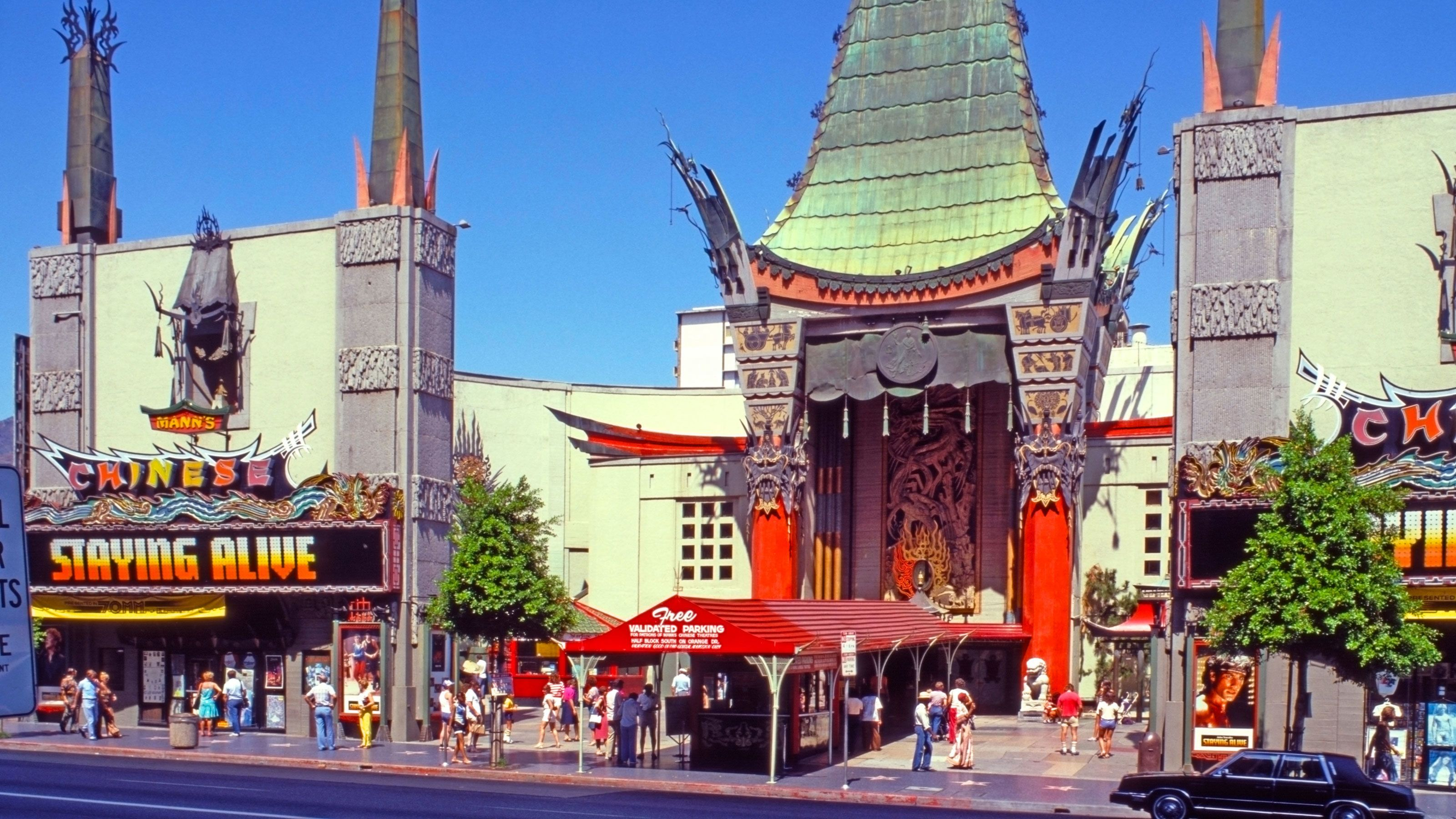 Hollywood Boulevard in Los Angeles.