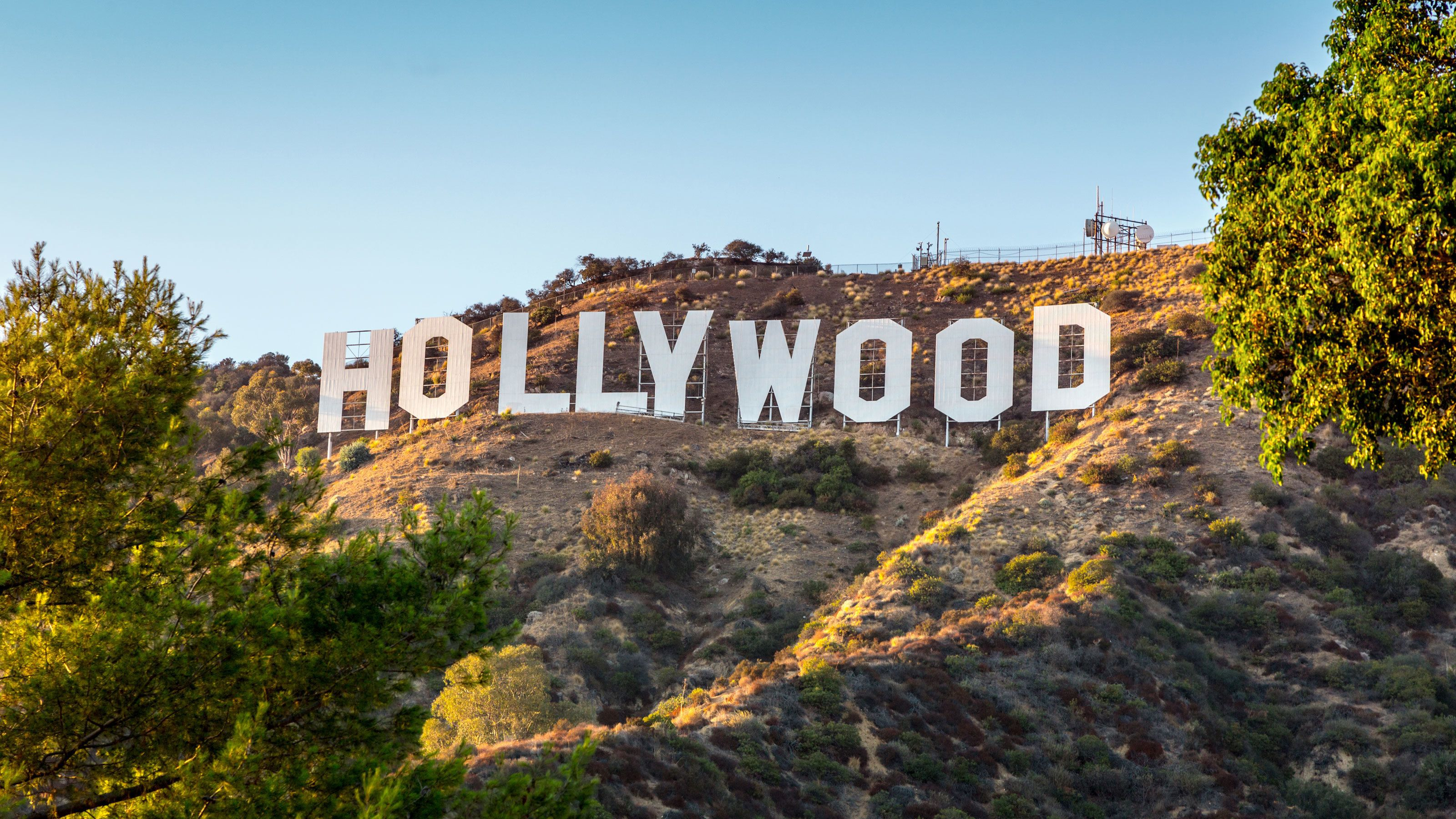 Los Angeles Hollywood Sign.