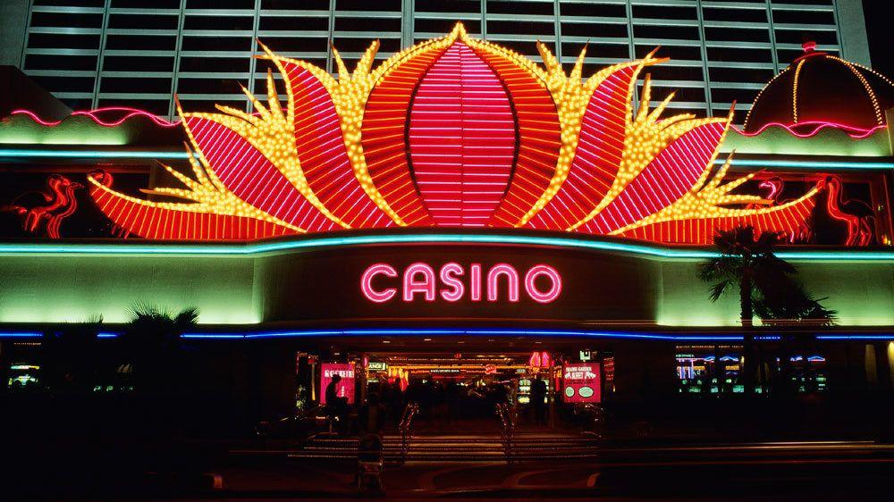 Las Vegas neon Casio sign.