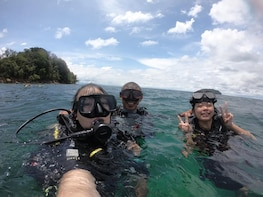 Tunku Abdul Rahman Park Scuba Diving Adventure
