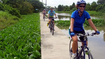 Private ganztägige Fahrradtour auf Koh Kret