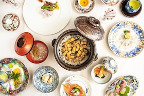 Luxury Kaiseki Lunch With Arita Ware and Gen-emon Kiln Tour