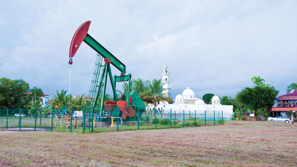 Show item 2 of 5. Landscape view of Private Seria Oil Field