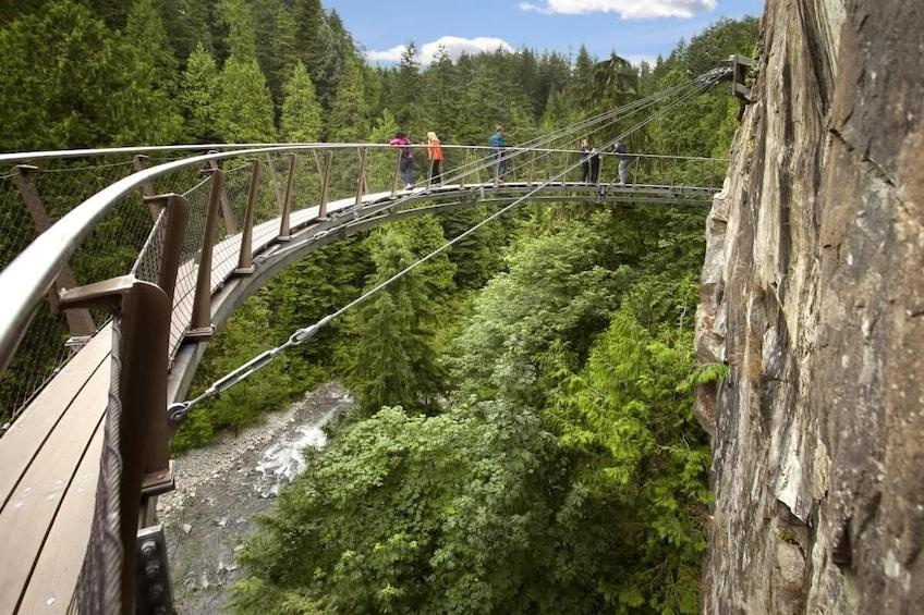 Show item 6 of 6. Capilano Suspension Bridge Private Tour